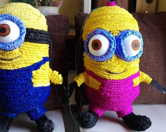 COUPLE MINION PINATAS - Minion pinata - couple minion - couple pinata - pinatas