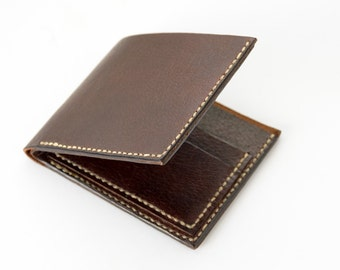 Leather Briefcase / / leather wallet / / dark brown wallet / / man leather wallet