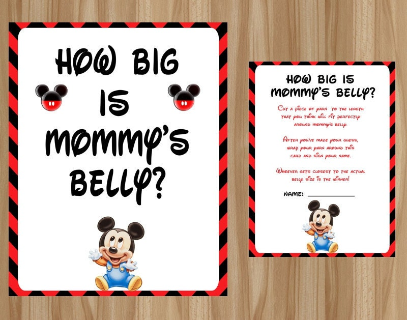 mickey mouse how big is mommy 39 s belly mickey mouse baby