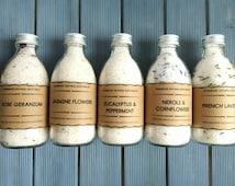 Organic Bath Salts//Body detoxifying, Aromatherapy Bath Salts, Vegan Handmade Bath Salts/Soap/,Salts for men, gift for mom, gift for her, uk