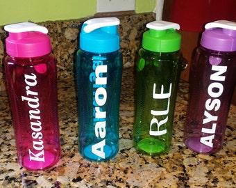 Personalized Water Bottle, Sports,  Kids, Flip top.....