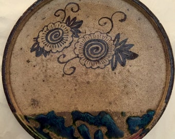 Rere ORIBE pottery plate