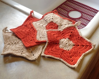 Star washcloths
