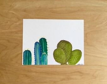 CACTI / watercolor print