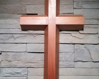 Mahogany Cross, Wooden Cross
