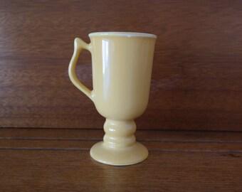 Hall Yellow Footed Mug #1272