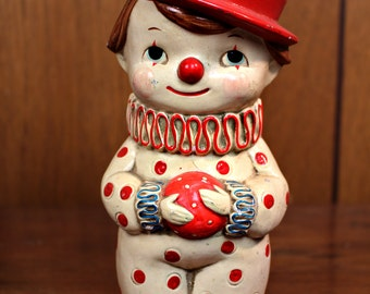 Vintage Clown Bank