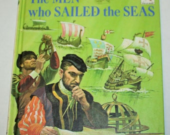 Vintage Step-Up Reader - Meet the Men Who Sailed the Seven Seas
