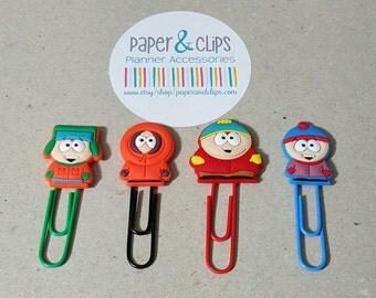 1 PVC South Park Bookmark or Paper Clip
