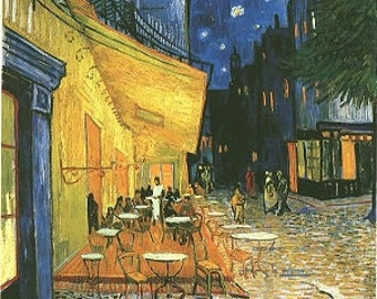 Cafe by Night by Vincent van Gogh