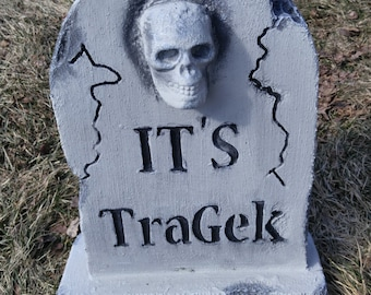 Customized Handcrafted Halloween Tombstones - Small