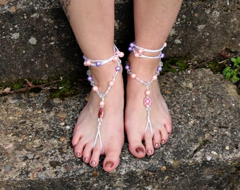 "Barefoot sandals ""be gentle!"""