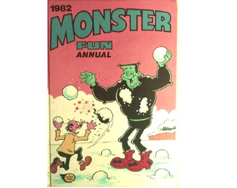 The Monster Fun Annual 1982