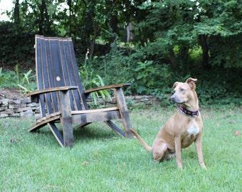 Whiskey Adirondack Chair