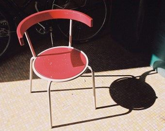 Red Abstract Chair