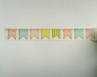 "Masking tape ""Flags"""