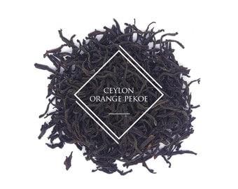 Ceylon Orange Pekoe, Loose Leaf Tea, Black Tea