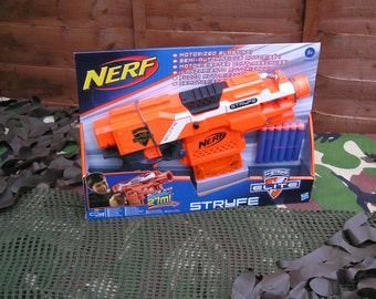 Nerf Stryfe Modified (Tamiya motors & re-wired) and worker parts
