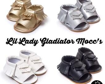 Little Lady Gladiator Sandals