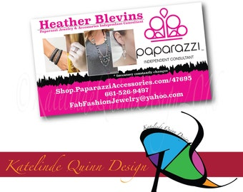 Paparazzi Business Cards- 500 printed