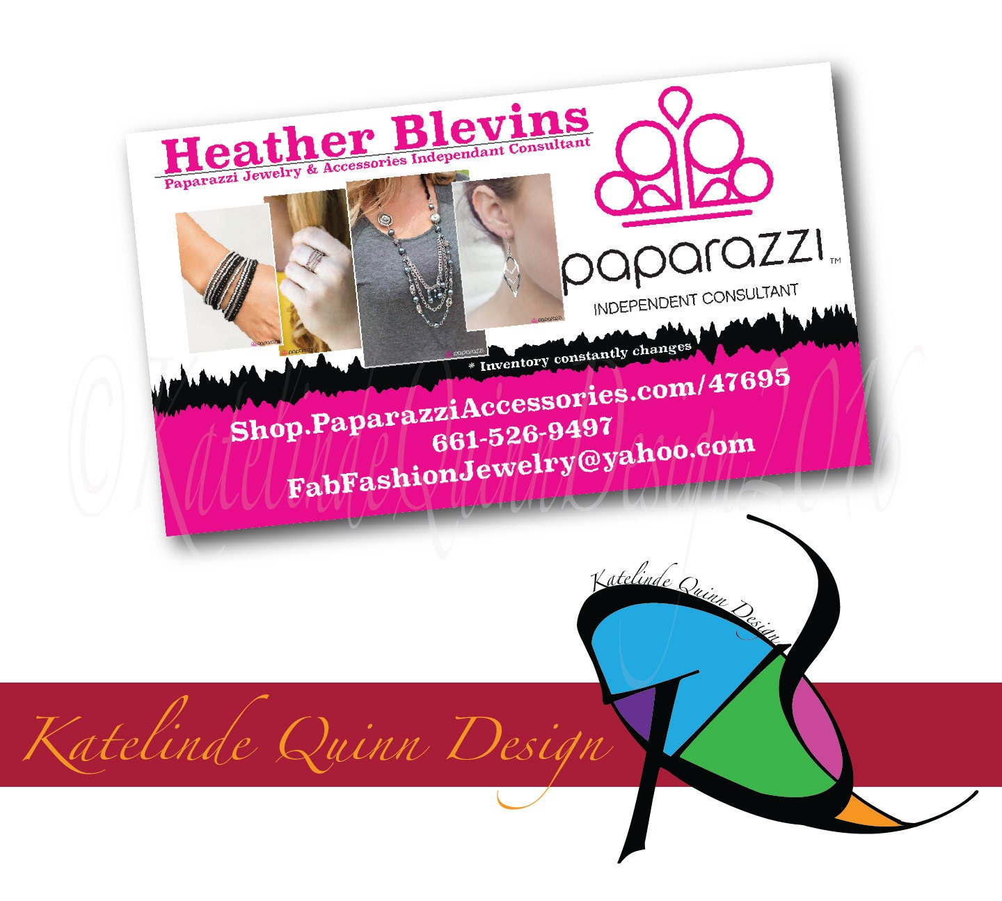 Paparazzi Business Cards 500 printed