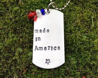 Made In America Dog Tag