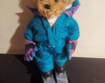 Alec the Skiing Bear