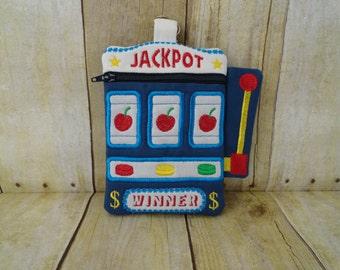 Wristlet Bag - Slot Machine - Casino - Jackpot
