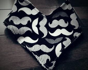 Baby Bandana bib / bibdana / drooler bib / baby bib / modern bib / drooler scarf