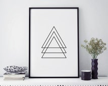 Top selling shops, abstract wall art, Scandinavian modern, simple prints, most popular item, affiche scandinave, wall print geometric poster