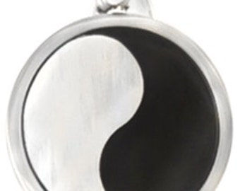 Yin Yang (STAINLESS STEEL) pendant