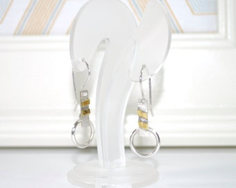 Earrings of the collection «Fusion».