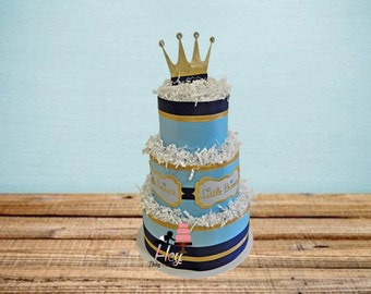 little prince diaper cake royal prince diaper cake little prince baby shower decoration