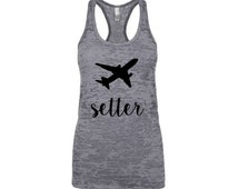 Jet Setter Tank Top . Jetsetter Tank . Jet setter Tshirt . Jetsetter Tank . Jet setter Top . Travel Tank  Travel Shirt #Jetsetter Jetsetter