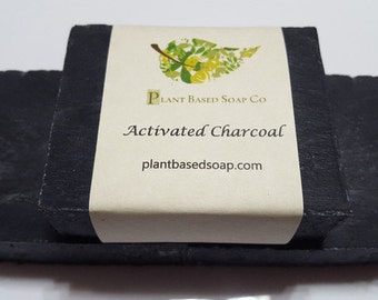 Activated Charcoal Organic Soap, Handmade Soap