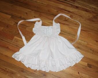 Monogram sweet dress