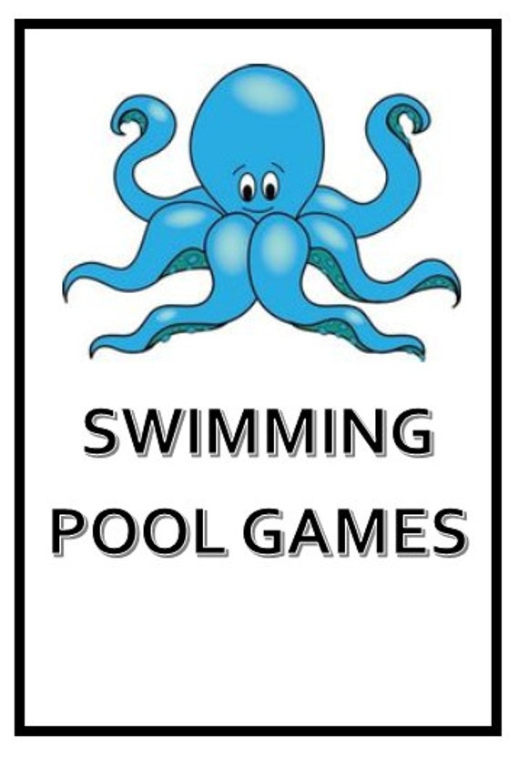 Swimming Pool Games Printable For Children Adults Pool