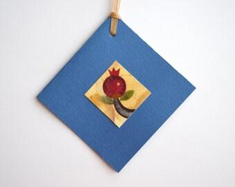 flower petals card. small