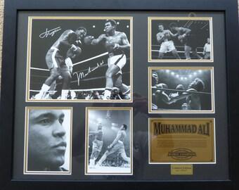 Muhammad Ali - Limited Edition - Photo montage -  framed