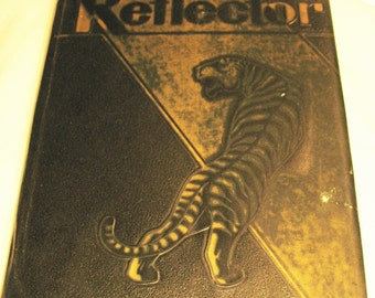 1962 Reflector Year Book Bellevue, Kentucky