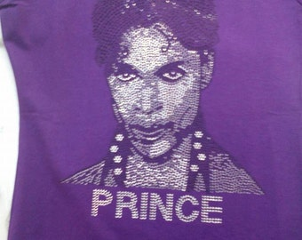 PRINCE Bling Purple Female Fitted Tee
