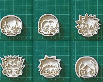haikyuu!! Character cookie cutters
