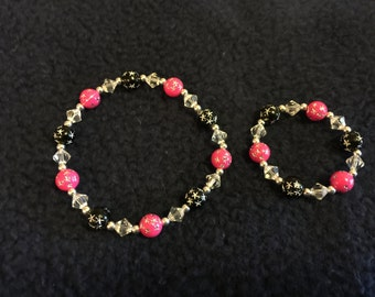 Mother/daughter matching bracelets