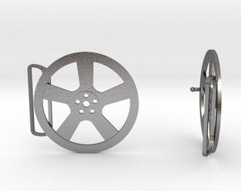 Car Wheel Belt Buckle | 3D Printed Steel Belt Clasp