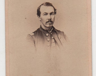 Antique Civil War Union Soldier Photograph