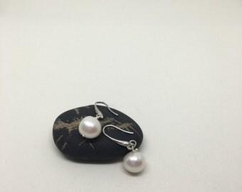 Real Pearl earrings