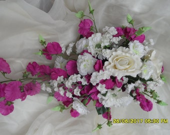 Traditional pink and white Bouquet