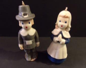 1950' - 1960's Vintage Pilgrim Couple, never been burned