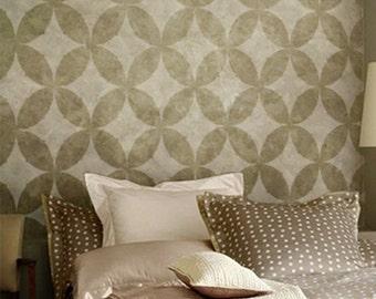 Wall Stencil Geometric 017 Circles