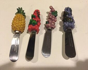 Boston Warehouse Fruited Pate knife set